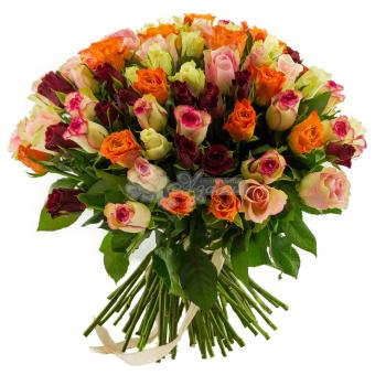 Букет из 101 розы Кения